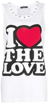 Dolce & Gabbana I Love The Love tank top