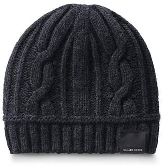 Canada Goose Cable-Knit Toque Beanie Hat