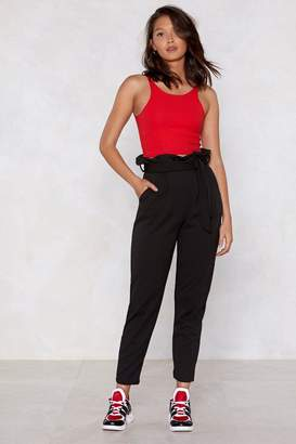 Nasty Gal You'll Never Know High-Waisted Pants