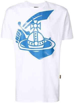 Vivienne Westwood central printed logo T-shirt