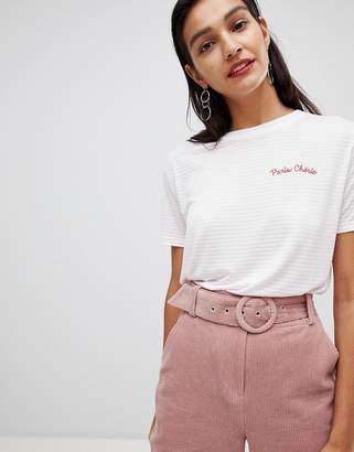 Whistles Striped Paris Cherie T-Shirt