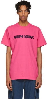 Noon Goons Pink Leopard Logo T-Shirt