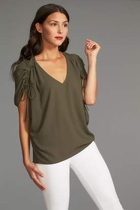 1 STATE 1.State Cinch Sleeve Blouse