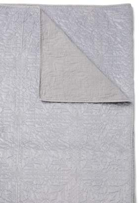 Nordstrom Grey Dapple Washed Queen Velvet Quilt