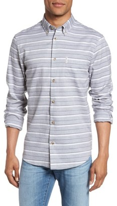 Men's Ben Sherman Tipping Horizontal Stripe Shirt $89 thestylecure.com