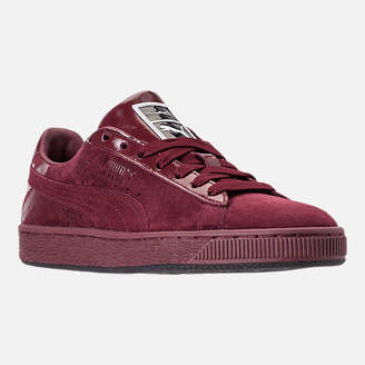 Puma Women's Suede Classic x Mac Three Casual Shoes