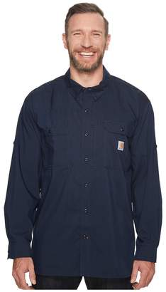 Carhartt Force Ridgefield Solid Long Sleeve Shirt - Big Men's Long Sleeve Button Up