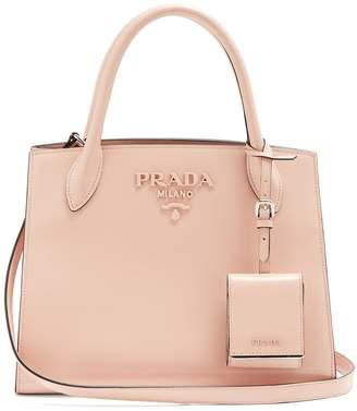 Com Prada Monochrome Small Leather Bag