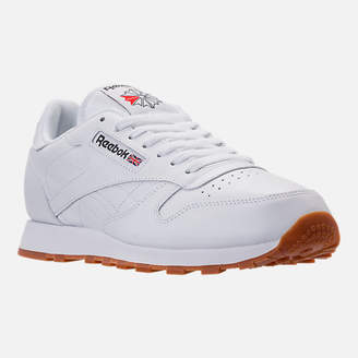 Reebok Men's Classic Leather Gum Casual Shoes