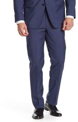 Brooks Brothers Dark Blue Sharkskin Wool Regent Fit Suit Separate Trouser