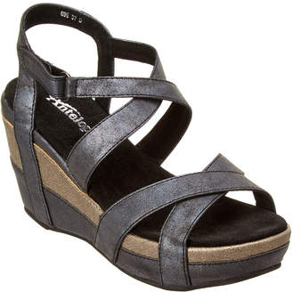 Antelope 696 Leather Wedge Sandal