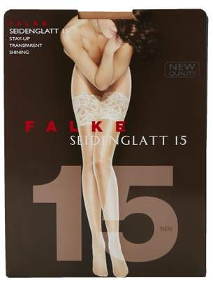 Falke Seidenglatt 15 Denier Hold Ups - Womens - Nude
