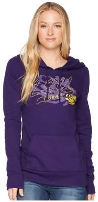 Champion College LSU Tigers Eco University Fleece Hoodie Women's Sweatshirt