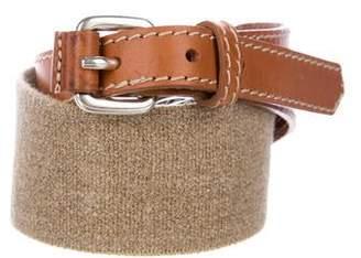 Max Mara Weekend Leather Stretch Belt