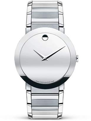 "Movado SapphireTM"" Stainless Bracelet Watch, 38 mm"