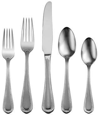 Oneida Satin Countess 45 Piece Flatware Set