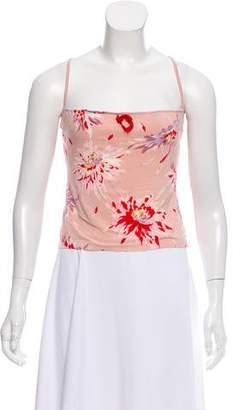Blumarine Printed Knit Camisole