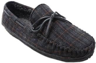 Minnetonka Men's Plaid Slippers - Plaid Casey
