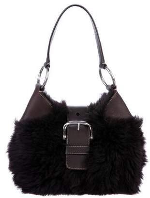 Prada Fur Shoulder Bag