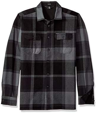 Volcom Men's Heavy Daze Flannel Long Sleeve Shirt