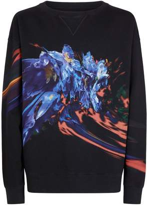Maison Margiela Floral Sweatshirt