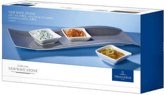 Villeroy & Boch New Wave 4Pc Antipasti Set