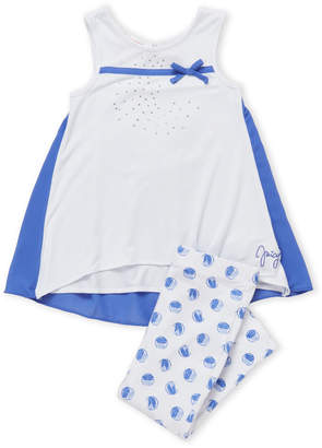 Juicy Couture Toddler Girls) Two-Piece Embellished Bow Tank & Leggings Set