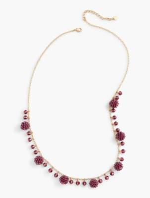 Talbots RSVP - Faceted Bead Layer Necklace