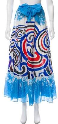 Diane von Furstenberg Cover-Up Midi Skirt