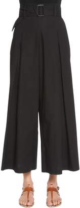 Etro Cotton Poplin Cropped Pants