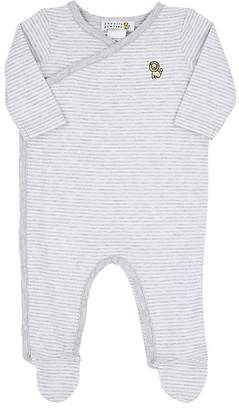 Barneys New York Infants' Striped Cotton Jersey Footie