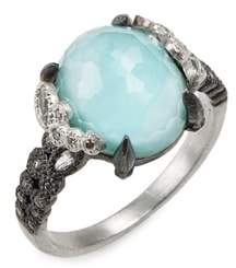 Armenta New World Crivelli Turquoise & Diamond Ring