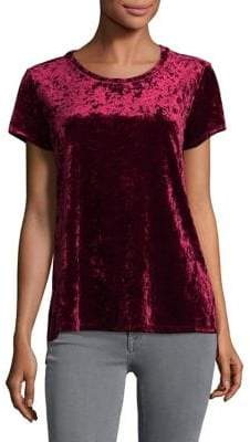 Lord & Taylor Modish Velvet Blouse