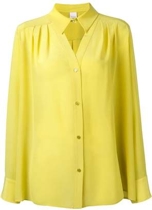 Pinko neck cut-out detail shirt