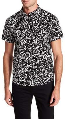 Wellington Confetti Print Short Sleeve Shirt