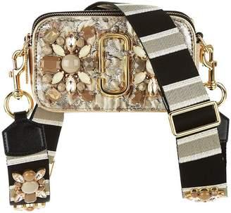 Marc Jacobs Snapshot Floral Brocade Cross-Body Bag