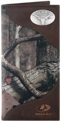 Zep-Pro Texas Longhorns Concho Mossy Oak Secretary Wallet