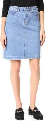 A.P.C. High Standard Skirt $165 thestylecure.com