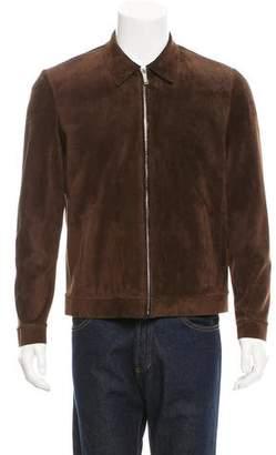 Jeffrey Rüdes Suede Textured Jacket w/ Tags