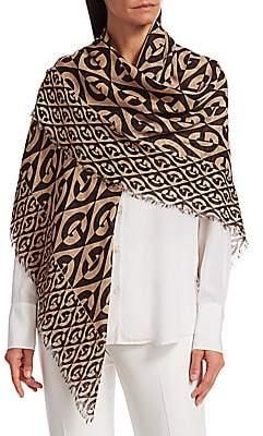 Gucci Women's G Rhombus Wool Shawl