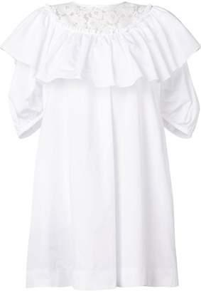 No.21 puff-sleeved dress