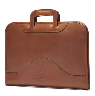 Ghurka Chestnut Leather Attache