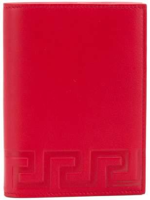 Versace Grecca document wallet