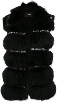 Andrea Bogosian embellished fur waistcoat
