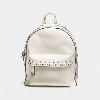 Coach Campus Backpack With Prairie Rivets