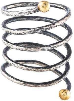 Gurhan Two-Tone Spiral Coil Ring