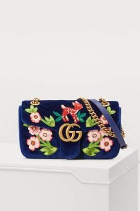 Gucci GG Marmont velvet SM shoulder bag