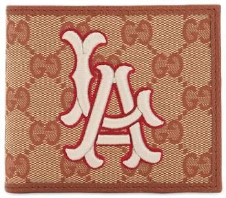 Gucci Los Angeles Gg Supreme Logo Wallet