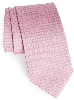 Salvatore Ferragamo Lamp Print Tie