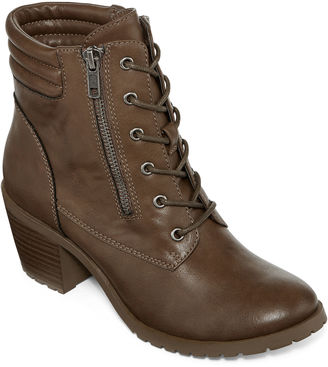 ARIZONA Arizona Lawley Lace-Up Booties $70 thestylecure.com